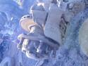 Ступица задняя левая 9703500335 - Mercedes Atego 815