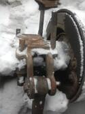 Кронштейн амортизатора заднего нижний  - Scania R113 360