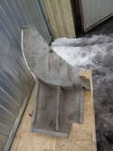 Корпус подножки правый с продолжением крыла  - Iveco Stralis