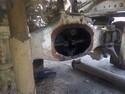 Корпус проходного моста  - Mercedes Atego 2628 6x4