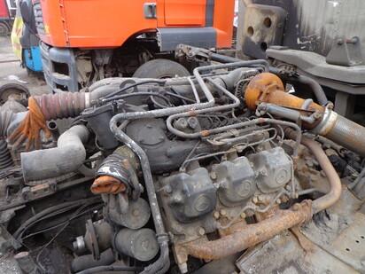 Двигатель в сборе - Mercedes-benz