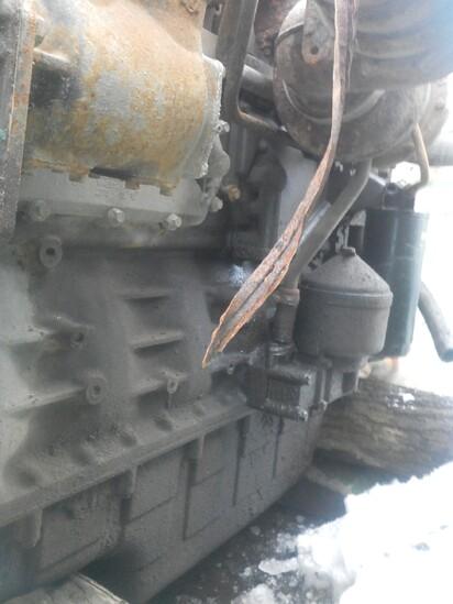 Двигатель в сборе - Scania, P124
