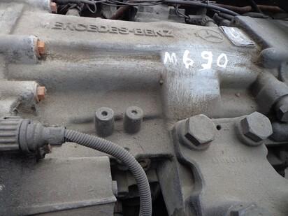 КПП - полуавтомат - Mercedes-benz, Actros